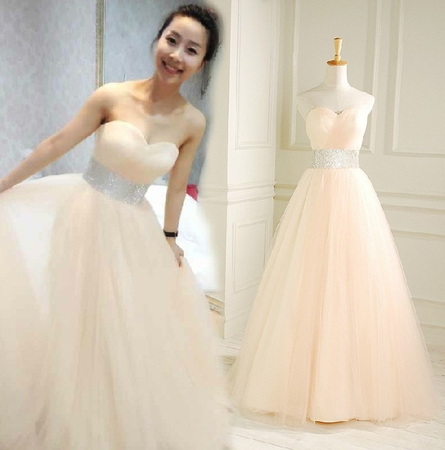 Cheap Price ! 2017 New Free Shipping simple princess A line ...
