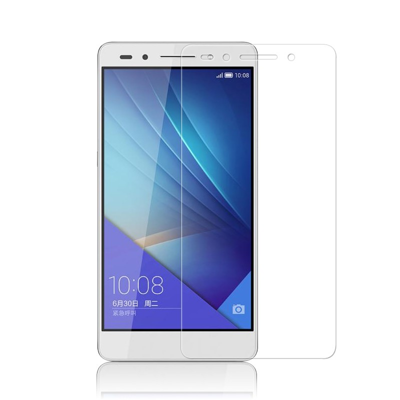 Tempered Glass for Huawei P6 P7 P8 P9 lite Honor 6 7 3C 4C 4X 5X Screen Protector Explosion-Proof Protective Film + Cleaning Kit 2