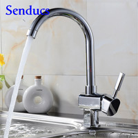 Free Shipping 360 Rotation Kitchen Sink Faucet With Solid Brass Kitchen Water Faucet By Top Quality