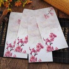 Купить 100 шт./лот творческие студенты канцелярские подарок традиционные классические эстетическое ремесло Бумага конверт Китайский Воздушный конверт 21,5*11 см