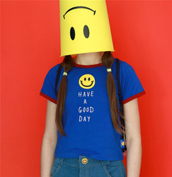 Fashion colorful tee shirt font b smiley b font female t shirt white tops woman girls.jpg 250x250