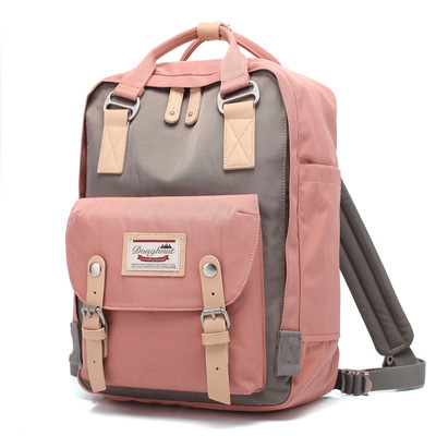 Teenage Girls Kanken Backpack Student Canvas Travel Laptop Bag Women Casual School Bags Mochila Stacy Bag Patchwork Rucksack dy0606 ladies bag 15inch women backpack suit for 14 15 notebook laptop bag student school bag travel mountaineering bag