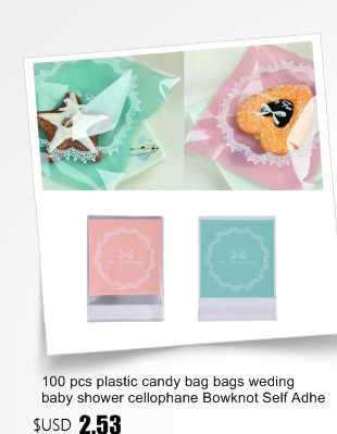 Event & Party Home & Garden 100 Pcs Transparent Candy Bags Flat Open 5 Sizes Plastic Birthday Cookie Lollipop Gift Packaging Bags Baby Shower Girl Boy To Have A Unique National Style