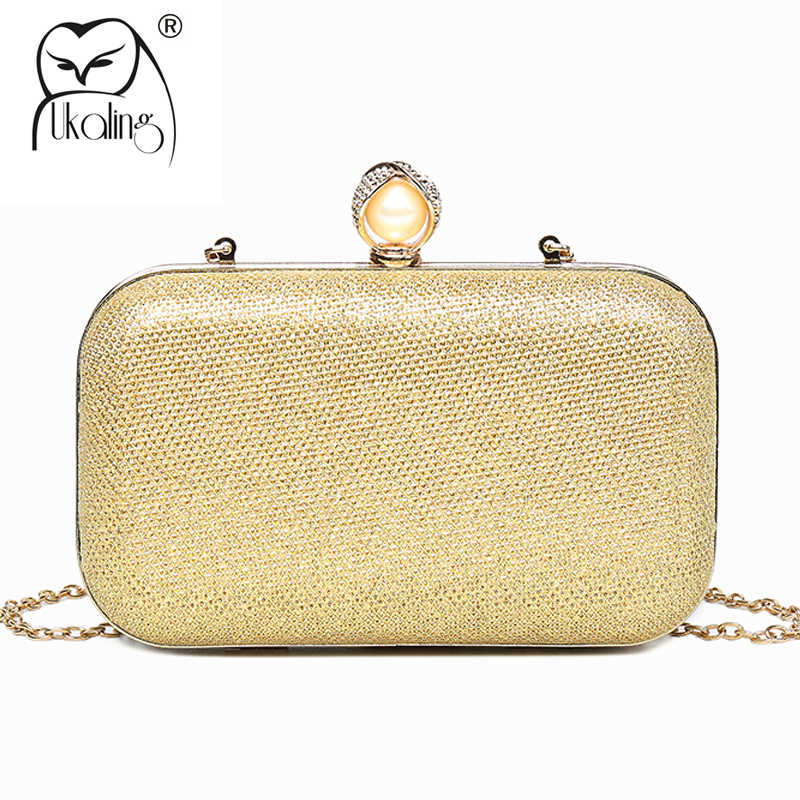 UKQLING Evening Clutch Bag Ladies Golden Day Clutches Purse Chain Handbag Female Bridal Wedding Dinner Party Bag for Women diy stirling engine steam machine model children learning education toys