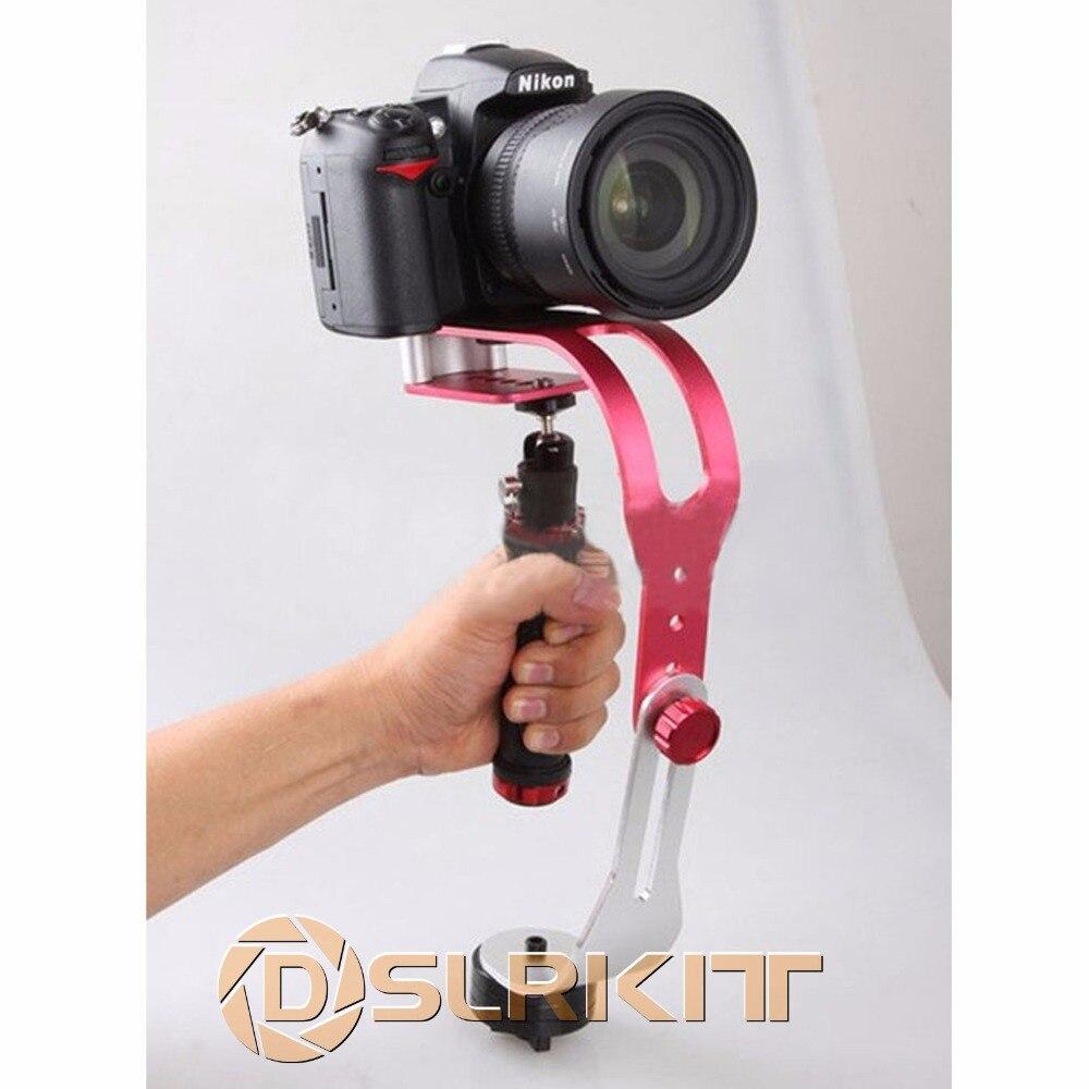 DSLRKIT Mini stabilisateur de poche vidéo Steadicam pour caméra DV caméscope