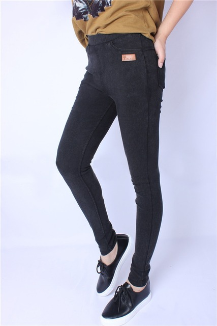 Winter Autumn Female Legging Large size XXXL XXXXL  for Super Elastic Soft Women All-match Pants Plus Size 2016 Stretch Slim