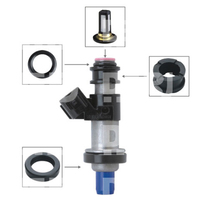 Frete grátis KEIHIN TOP ALIMENTAÇÃO MPI Fuel Injector Repair Kits TS RK0026|Injetor de combustível| |  -
