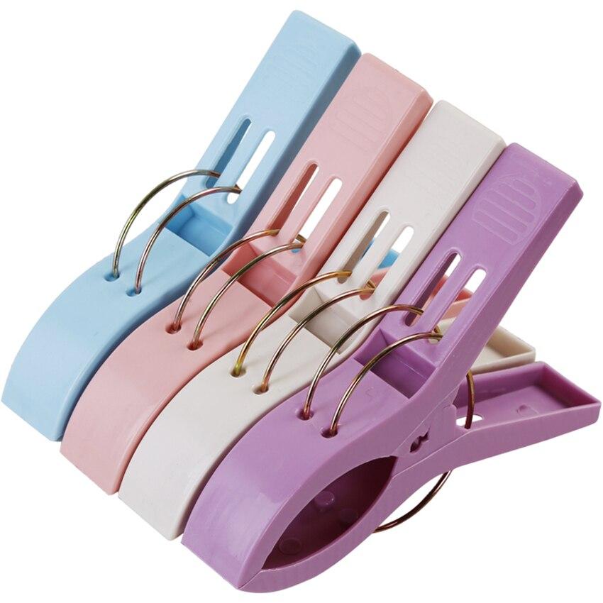 Affidabile 1 Pz Colore Creativo Pinze Telo Mare Morsetto Per Evitare Che Il Vento Morsetto Mollette E Stendibiancheria Supporti Asciuga Pasta Clip Di Fissaggio