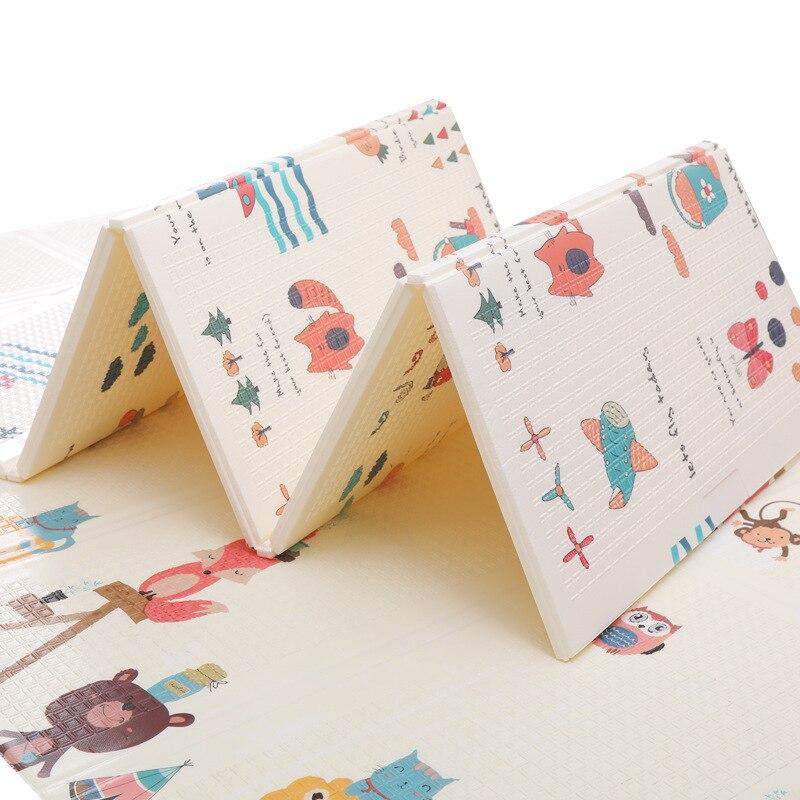 Tapis de jeu pour bébé XPE Puzzle en mousse tapis de sol pour enfants tapis rampant pour chambre de bébé tapis pliable pour bébé tapis pour bébé