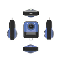 MINI Action Cam Recording HD WiFi 720 Panoramic Sports Driving VR Camera