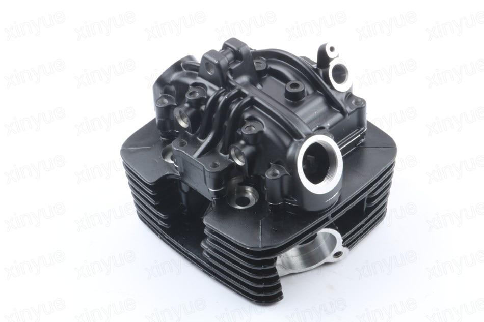 Cylinder Head 157FMI EN125 GZ125 Black cylinder