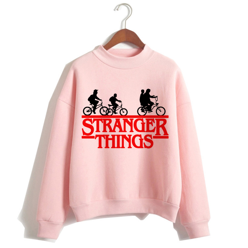 Stranger Things Hoodies Women Harajuku Funny Cartoon Eleven Friends Hip Hop Female Sweatshirts Don't Lies 90s Hoody