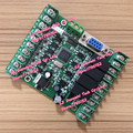 PLC FX1N 2N 10MR 10MT 6MR tablero de control PLC interno 51 panel de control de un solo chip