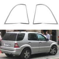 High-quality 2PCS ABS Chrome accessories plated Rear Light Lamp Cover Trim For Mercedes-Benz W163 ML 197-2005