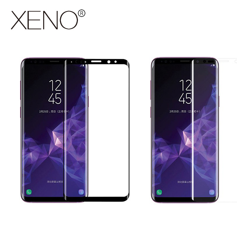 Screen Protector Film Tempered Glass For Samsung Galaxy S9 S8 Plus Note 8 For Samsung Galaxy S7 Edge Full Cover 3D Curved Round
