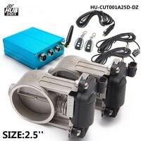 Exhaust Valve Control (E.V.C) Dual Kit + Electric Control Box For Exhaust Catback Downpipe HU CUT001A25D DZ