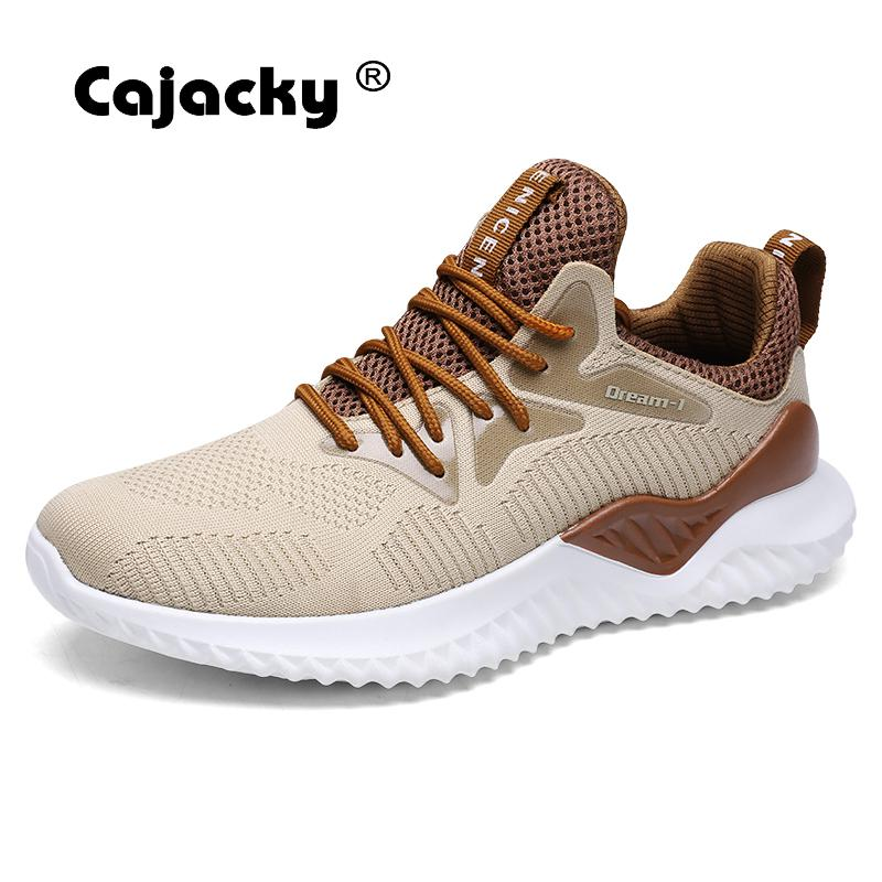 Cajacky High Quality Men Casual Shoes Plus Size 46 New Men Shoes Autumn Summer Breathable Male Sneakers Lightweight Men Trainers plus size 42 men denim jeans new 2017 autumn brand afs jeep loose free type breathable male casual clothing pantacourt homme