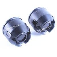 For 12mm Front Rear Rim Wheel CNC Aluminium Crash Slider Frame Fork Protector Caps Motorcycle Parts