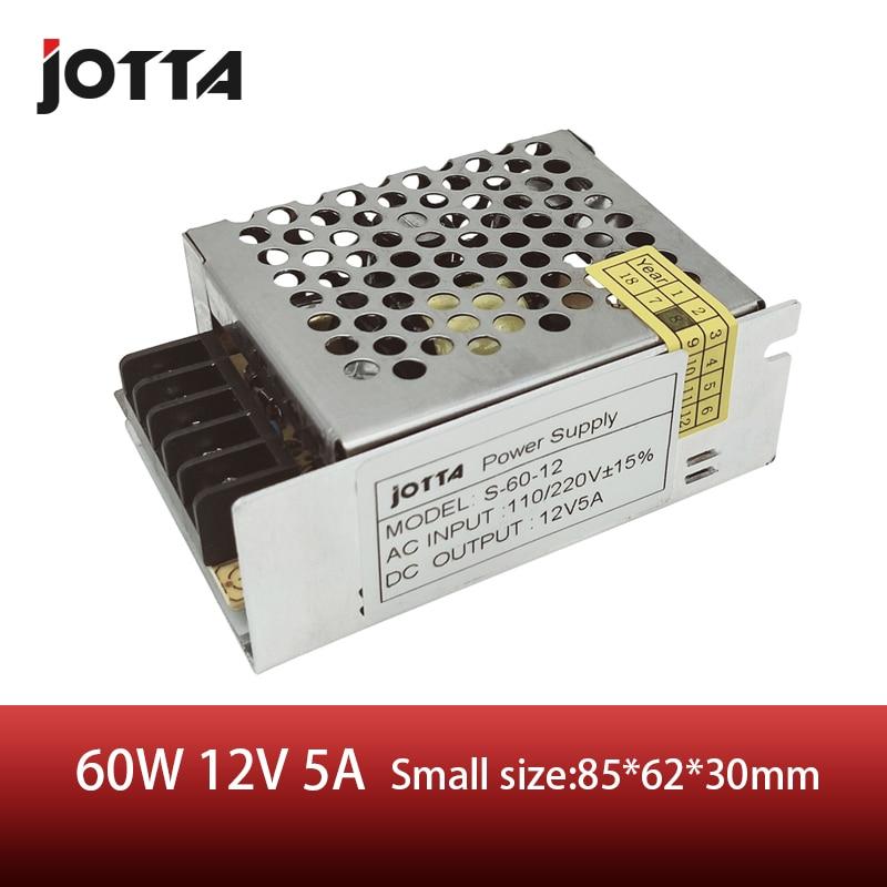s 60 12 power supply 12v 5a 60w scheme - 60W 12V 5A switching power supply AC220V to DC Strip Lamp supply