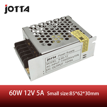 60W 12V 5A switching power supply AC220V to DC Strip Lamp supply