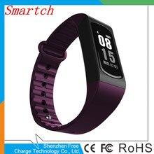 Smartch W4S Smart Band IP67 Водонепроницаемый фитнес-трекер сна сердечного ритма Мониторы шагомер SmartBand браслет для IOS Android