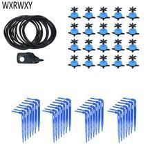 8L strzałka systemu nawadniania 4-way kroplownik do nawadniania system nawadniania nawadniacz z mikroprzepływem rośliny doniczkowe z cieplarnianych 10 zestaw 20 zestaw tanie tanio Podlewanie zestawy WXRWXY Z tworzywa sztucznego 8L drip arrow system See picture 4way arrow drip 3 5 drop arrow Blue + black