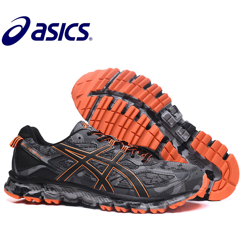 2018 New Hot Sale Man's ASICS GEL-SCRAM 3 Stability Running Shoes ASICS Sports Shoes Sneakers Outdoor Walking For Man Asics Gel