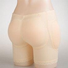 aa8a581793f LIZ Crossdresser Enhancer Fake Buttocks Silicone Padded Panties Hip Push Up  Pockets Panty Underwear False Female