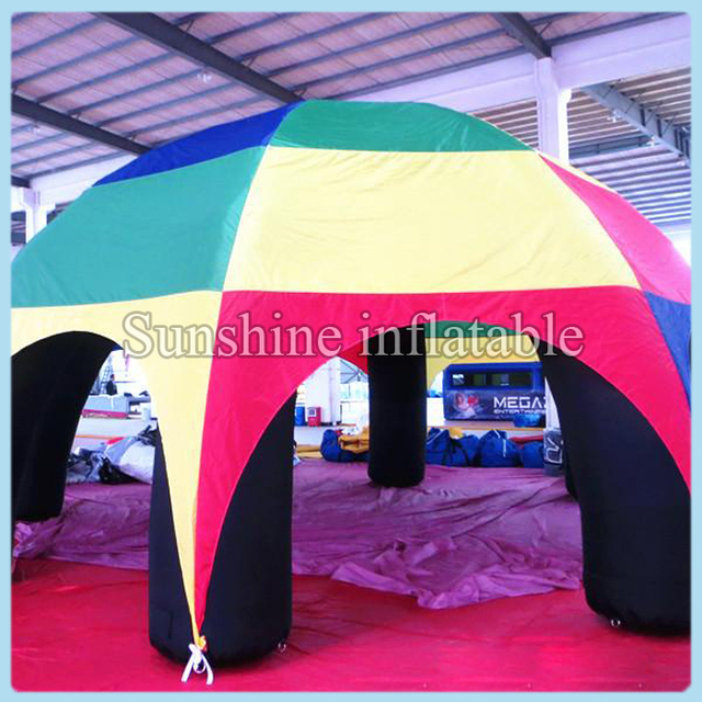 High quality event party colorful large inflatable dome tentinflatable spider tent for sale can  sc 1 st  AliExpress.com & High quality event party colorful large inflatable dome tent ...