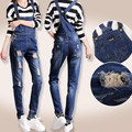 2017 Hot jumpsuits Boots Cowboy Pants Slim pencil Pants Women's Jeans