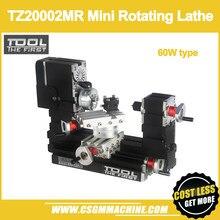 Tz20002mr 60w metal mini torno rotativo/60w, 12000rpm grande potência mini torno
