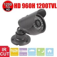 Vanxse Cctv 1/3 Sony Cmos Hd 30Leds Ir-cut 960h/1200tvl 3.6mm Outdoor D/N Waterproof Bullet Security Camera Surveillance