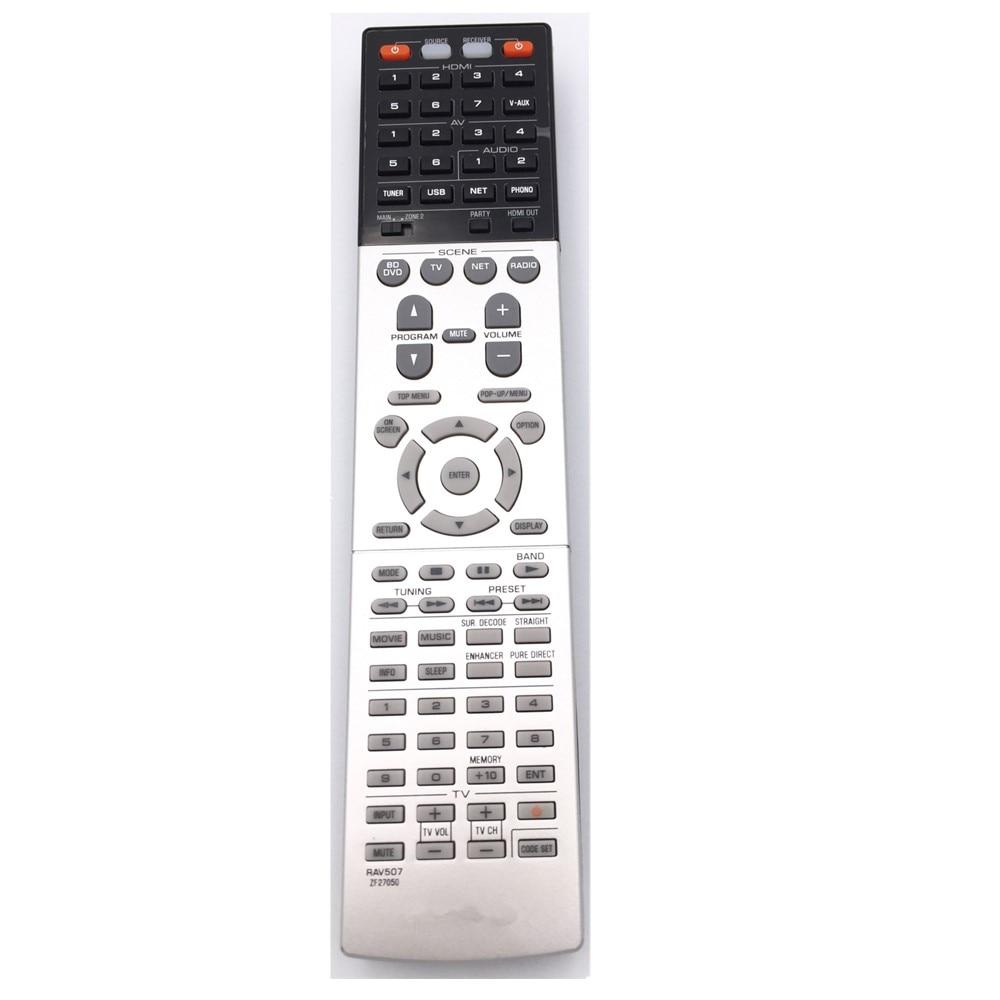 Rav507 Zf27050 Fit For Yamaha Av Receiver Remote Control