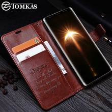 TOMKAS Case For Samsung Galaxy Note 8 Leather Cover Wallet Cases For Samsung Note 8 Kickstand
