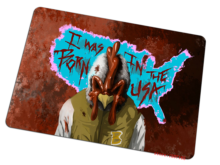 9 size cool Hotline Miami mouse pad High quality large pad to mouse computer mousepad Chicken gaming mouse mats to mouse gamer