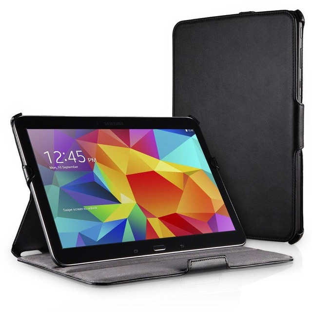 Gt-p5200 P5210 P5220 кожаный смарт стенд case cover for Samsung Galaxy Tab 3 10.1 обложка case с мульти ангел & магнит авто сна