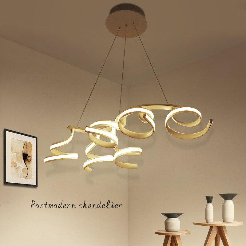 Us 264 65 21 Off Modern Led Pendant Lights Nordic Restaurant Hanging Lamps Living Room Novelty Lighting Fixtures Dining Suspension Luminaire In