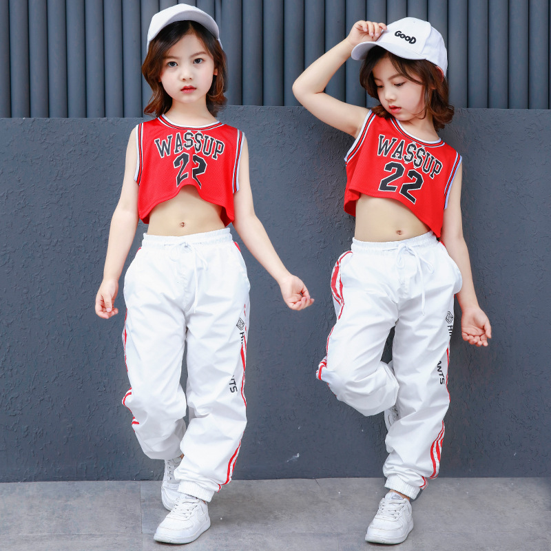 732695283 New Korean Style Hiphop Dance Clothes for Children Kids Girls Modern ...