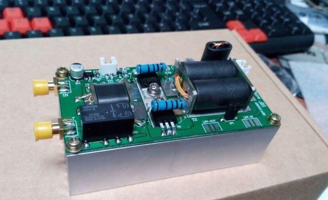 diy kits 70w ssb cw am fm linear hf short wave amplifier power amplifier for yaesu ft 817 kx3 in. Black Bedroom Furniture Sets. Home Design Ideas