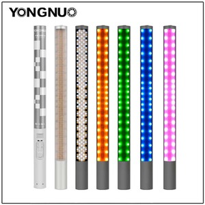 Image 1 - Yongnuo YN360 YN360 II Handheld Ice Stick LED Video Light built in battery 3200k to 5500k RGB colorful controlled by Phone App