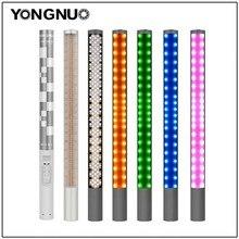 Ручной светодиодный светильник Yongnuo YN360 YN360 II со встроенным аккумулятором 3200k до 5500k, цветной светодиодный светильник RGB с управлением через приложение для телефона