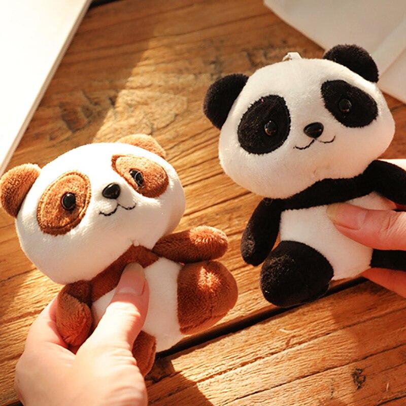 100 pz/set Bella Panda Animale Bambole 10 CM Della Peluche Del Bambino Giocattoli-in Animali di pezza e peluche da Giocattoli e hobby su  Gruppo 1