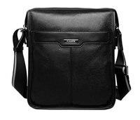 Новая повседневная мужская сумка из натуральной воловьей кожи, мужская сумка на плечо, Мужская модная сумка на плечо, сумка для ipad
