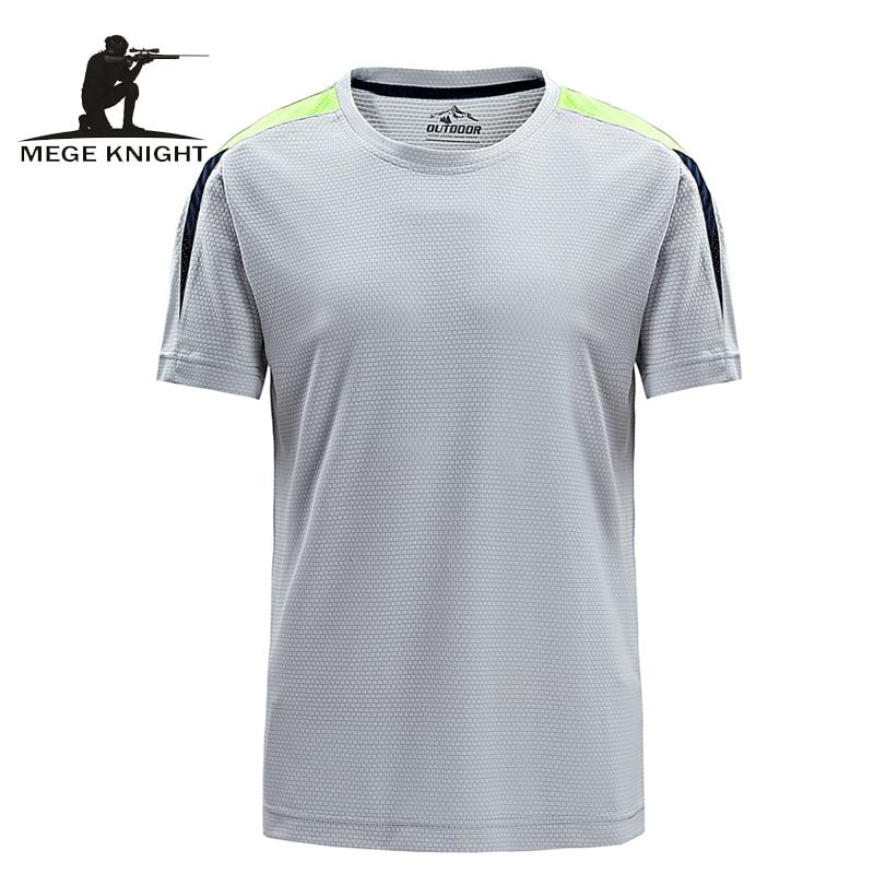 Mege brand clothing summer men short sleeved tee shirt for Good quality mens dress shirts