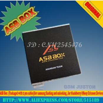 2017 Ultima AsanSam Box/ASB BOX con 2 pz cavi per Samsung NOTA 2 + flash + riparazione + sblocco aggiungere per Hua Wei Strumenti di Attivazione - 2