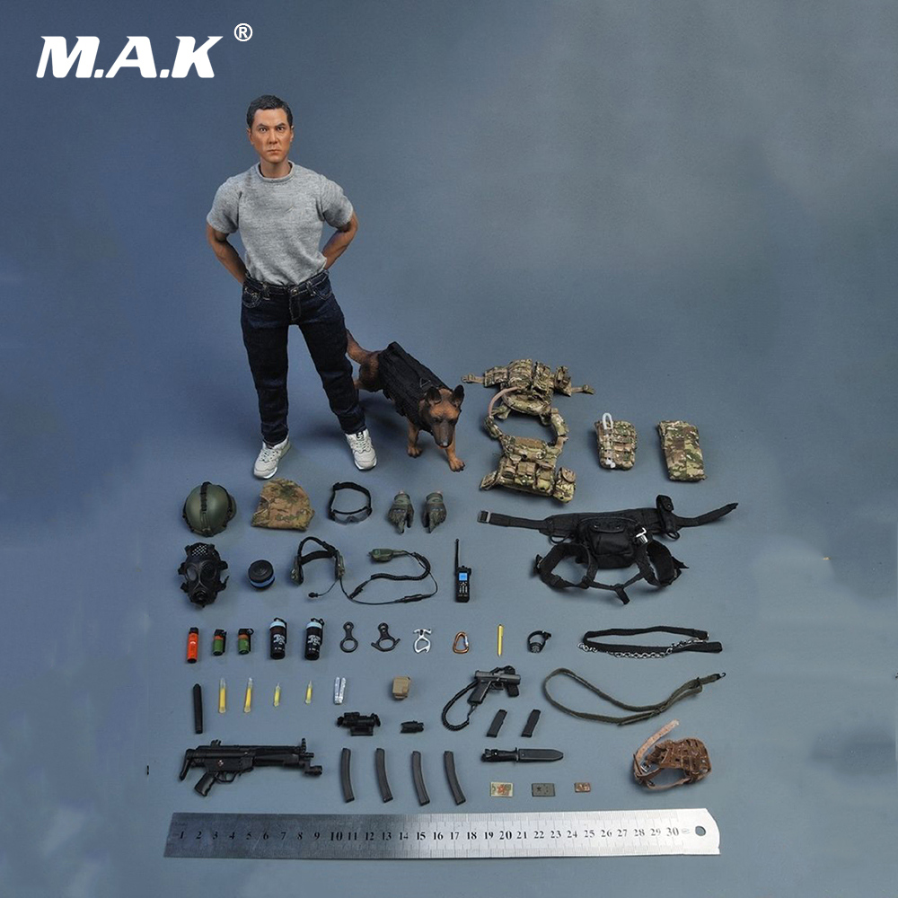 1/6 Scale Full Set Soldier Action Figure SDU SPECIAL DUTIES UNIT K9 With Dog Soldier Story SS097 for Collection военные игрушки для детей soldier story 1 6 ss 067 fbi 2 0 hrt