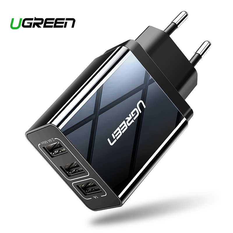 Ugreen USB Charger for iPhone Xs X 8 7 Fast for Samsung Xiaomi Huawei Wall Charger EU