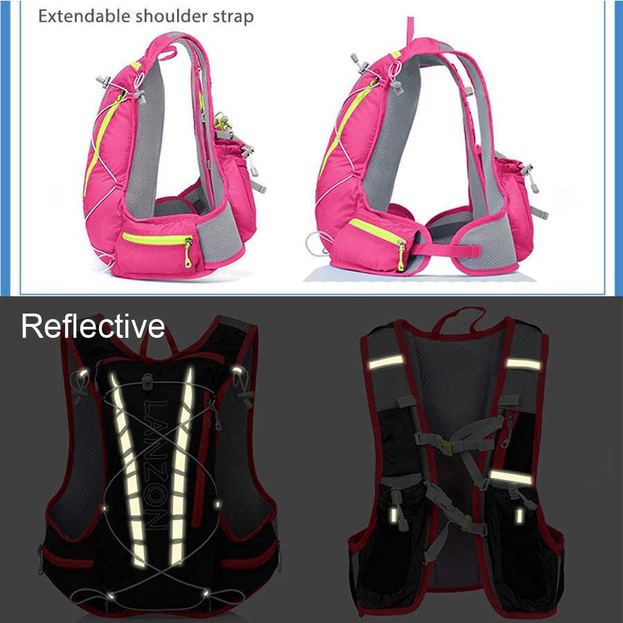 Для женщин бег рюкзак держатель для бутылки воды водостойкий телефона Trail Fanny Pack Бег Спорт водоотталкивающий для марафонов Кемпинг Сумка