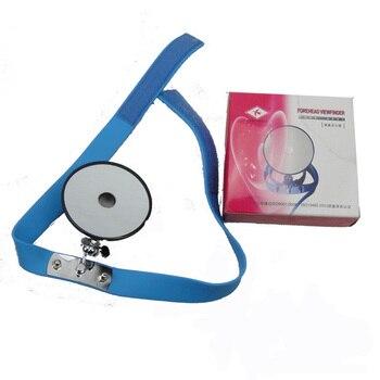 Alın vizör miktarı ayna reflektör ile kulak ENT endoskopi otoskop