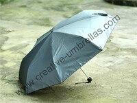 Анти-ржавчина солнца, анти-гром, 70 т алюминия 12 углов вал, сверхсветовой, ветрозащитный руководство складной зонтик для автомобиля Путешест...